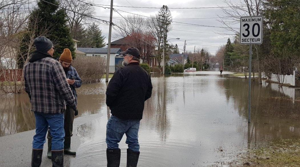 خرائط الفيضانات