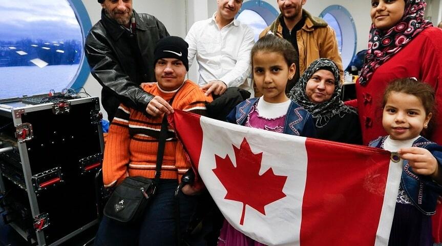 شروط وطرق لم الشمل في كندا 2020-2021