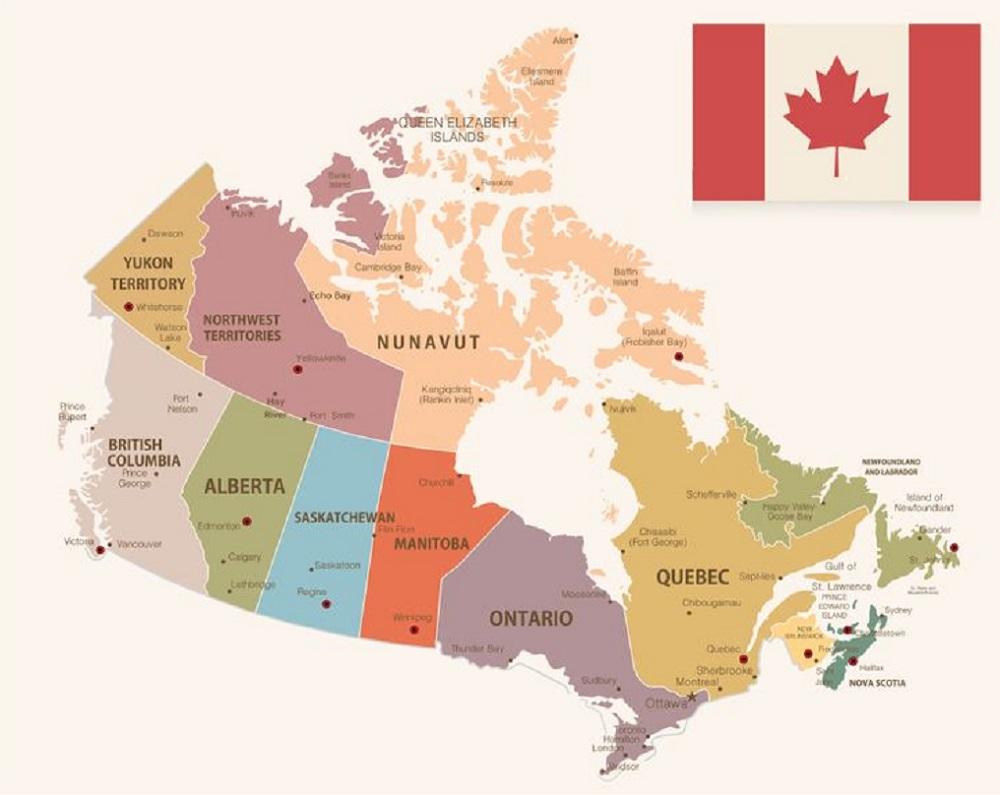 افضل مقاطعات كندا للهجرة 2020