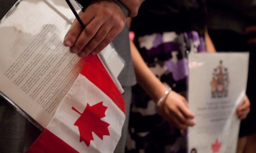 الحصول على الجنسية الكندية
