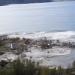 قرية تنزلق إلى البحر