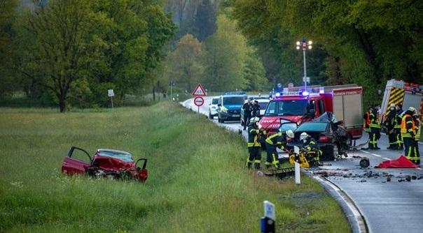 حادث مروري مروع يُسفر عن وفاة شاب وأمه في ولاية هيسن