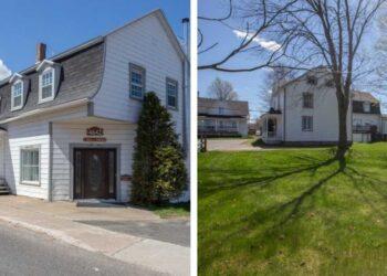 منزل مكون من 19 غرفة للبيع بأقل من 200 ألف دولار بكيبيك