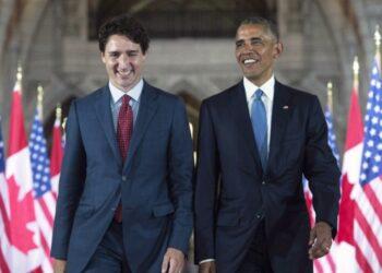 أوباما وترودو